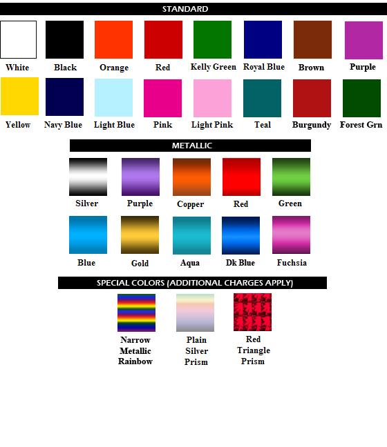 Folienfarben