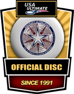 Discraft UltraStar: official disc of USA Ultimate since 1991.